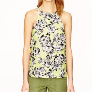 ✨J. Crew✨ Collection Racer Tank in Photo Floral